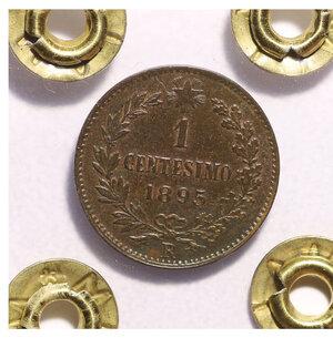 reverse: Umberto I. 1 cent 1895 spl+