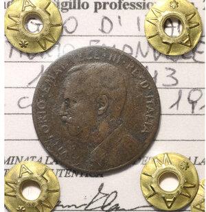 obverse: VITTORIO EMANUELE III. 2 cent 1915