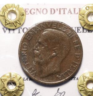 obverse: VITTORIO EMANUELE III. 10 cent 1929 bb/spl