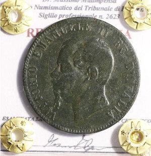 obverse: VITTORIO EMANUELE III. 10 cent 1923. BB