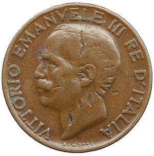 obverse: Vittorio Emanuele III. 5 Cent. 1925. BB PERIZIATA