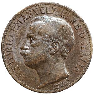 obverse: Vittorio Emanuele III. 10 Centesimi. 1911. BB+. Periziata