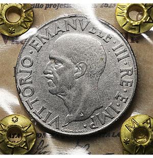 obverse: Vittorio Emanuele III. 1 Lira Impero 1940. BB. Periziata