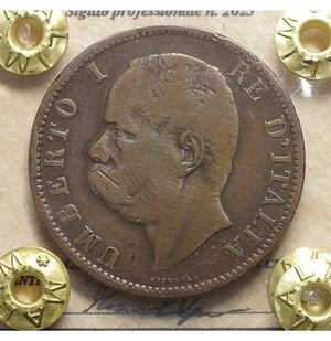 obverse: Umberto I. 10 centesimi. 1894. BB