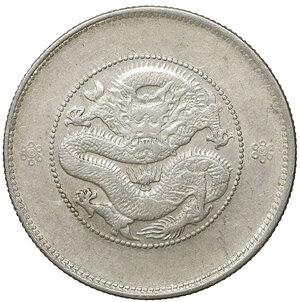 reverse: China. Yunnan Province. 50 Cent 1911/1915. Y 257. XF