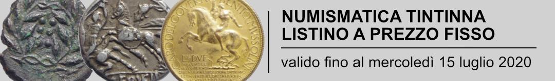 Banner Tintinna - listino a prezzo fisso con proposta