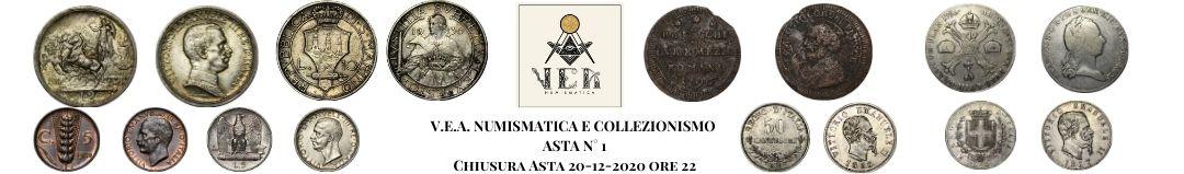 Banner V.E.A. Numismatica Asta 1