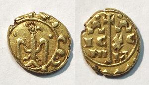 obverse: Messina. Federico II di Svevia imperatore (1220-1250). Multiplo di tarì AV gr. 2,66. Spahr 72. MEC 14, 532. MIR 67. D Andrea Hohenstaufen 144. Buon BB
