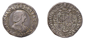 obverse: Milano. Galeazzo Maria Sforza (1466-1476). Mezzo testone AG gr. 5,17. Ravegnani Morosini 10. Crippa 7. MIR 202/1. Ex asta Varesi 69/2016, ANPB, 86. Rarissimo. BB