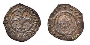 obverse: Pavia. Francesco I Sforza conte di Pavia (1447-1450). Imperiale MI gr. 0,55. CNI T. XLI, 12 (disegnato). MIR 863. MEC12, 814. Ex Numismatica Picena listino 2/2009, 490. Molto raro. SPL