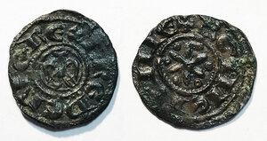 obverse: Sicilia. Federico II di Svevia (1197-1250). Denaro (Palermo o Messina) MI gr. 0,67. Spahr 90. Travaini 11. MEC 14, 581. D Andrea Hohenstaufen 91. Raro. BB
