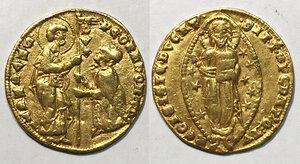 obverse: Venezia. Pietro Gradenigo (1289-1311). Ducato AV gr. 3,51. Paolucci 1. Raro. BB