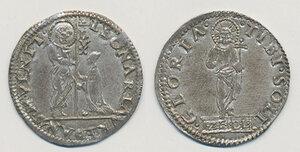 obverse: Venezia. Leonardo Loredan (1501-1521). Mocenigo o lira AG gr. 6,53. Paolucci 3. Esemplare notevolmente conservato, bello SPL
