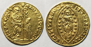 obverse: Venezia. Alvise III Mocenigo (1722-1732). Zecchino AV gr. 3,48. Paolucci 6. q.SPL