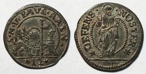 obverse: Venezia. Paolo Renier (1779-1789). Soldo da 12 bagattini AE gr. 1,54. Paolucci 33. Conservazione eccezionale, q.FDC
