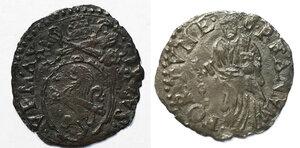 obverse: Fano. Sisto V (1585-1590). Quattrino MI gr. 0,49. Muntoni 117. Ciavaglia 46. MIR 1372/1. Più di BB