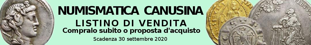 Banner Canusina Listino di Vendita