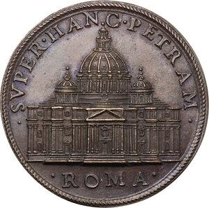 reverse: Sisto V (1585-1590), Felice Peretti.. Medaglia, A. VI