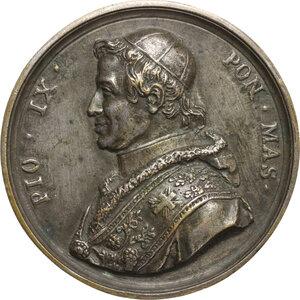 obverse: Pio IX  (1846-1878), Giovanni Mastai Ferretti.. Medaglia fusa per la Guardia Civica, 1847