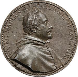 obverse: Francesco Maria Brancaccio (1592-1675), cardinale. . Medaglia 1636