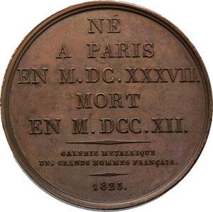 reverse: Nicolas Catinat (1637-1712), generale.. Medaglia 1823