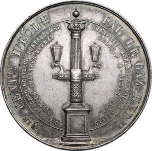 obverse: France. Medaglia 1852 per l illuminazione a gas