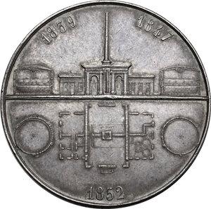 reverse: France. Medaglia 1852 per l illuminazione a gas