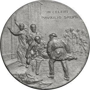 obverse: Medaglia 1899 per l inaugurazione della sede della guardia medica e della poliambulanza di Trieste