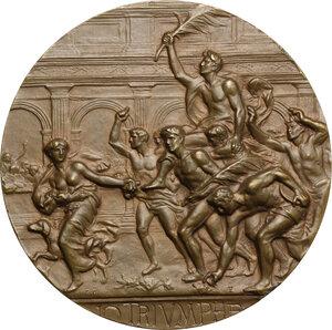 obverse: Medaglia premio coniata per il Ministero della Guerra