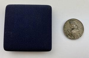 obverse: Dante Alighieri (1265-1321). Medaglia 1965 per l ottavo centenario della nascita