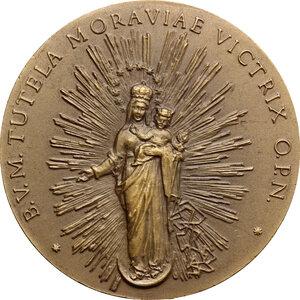 obverse: Medaglia s.d. (XX sec) per la Vergine del monte Hostyn in Moravia