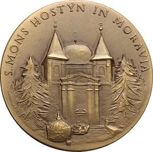 reverse: Medaglia s.d. (XX sec) per la Vergine del monte Hostyn in Moravia