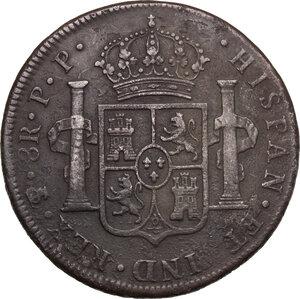 reverse: Bolivia.  Carlos IV (1788-1808).. 8 Reales 1799, Potosì mint