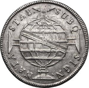 reverse: Brazil.  Joao VI (1816-1826) as Regent. 960 reis 1815 B, Bahia mint