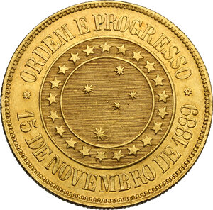 reverse: Brazil.  Republic (1889- ). 20000 reis 1889