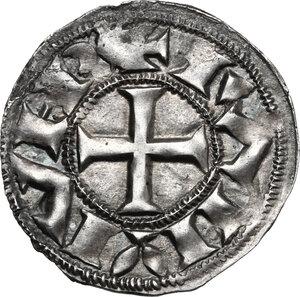 reverse: France.  Raymond Bernard. Denier, 11th century