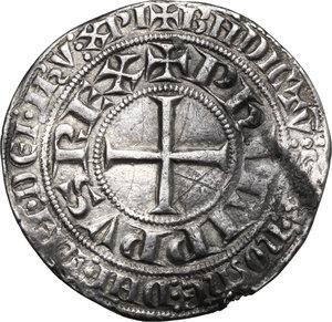 obverse: France.  Philip IV (1268-1314), called the Fair.. Gros Tournois