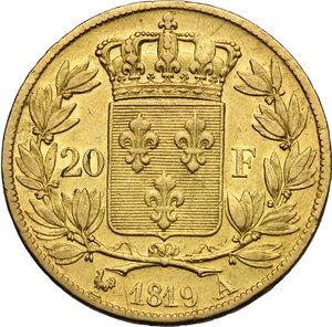 reverse: France.  Louis XVIII (1814-1824).. 20 Francs 1819 A, Paris mint