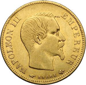 obverse: France.  Napoleon III (1852-1870).. 10 Francs 1857 A, Paris mint