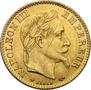 obverse: France.  Napoleon III (1852-1870).. 10 Francs 1868 A, Paris mint