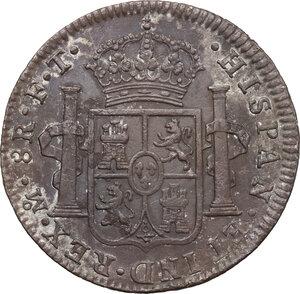 reverse: Mexico.  Carlos IV (1788-1808).. 8 Reales 1802, Mexico city mint