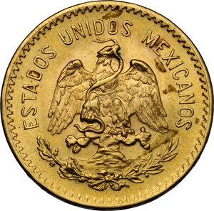 reverse: Mexico. 10 Pesos 1959, restrike
