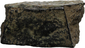 obverse: Aes Premonetale.. Aes Formatum. A fragment of bronze ingot, central Italy, 8th-4th century BC