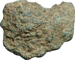 obverse: Aes Premonetale.. Aes Formatum. AE Cast Circular Cake, Etruria, 8th-4th century BC