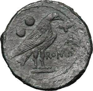 reverse: Anomalous Semilibral series.. AE Sextans, c. 217-215 BC