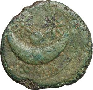 reverse: Anomalous semilibral series.. AE Uncia, c. 217-215 BC