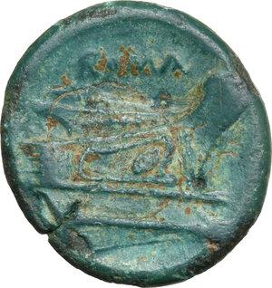 reverse: Post semilibral series.. AE Semuncia, c. 215-212 BC