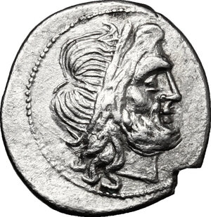 obverse: Anonymous. AR Victoriatus, after 218 BC