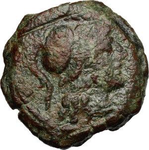 obverse: L. Saufeius.. AE Triens, 152 BC