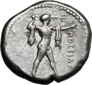 obverse: Northern Lucania, Posidonia. AR Stater, c. 445-420 BC